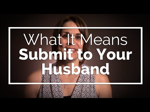 What It Means to Submit to Your Husband