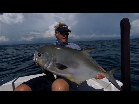 Boca Grande Fishing Offshore Structure for Permit on Light Tackle