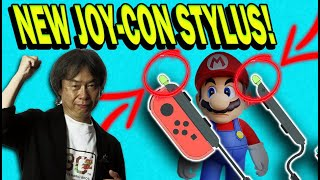 New Nintendo Switch Joy-Con Stylus Coming Soon!? Mario Paint and Mario Party Possibilities On Switch