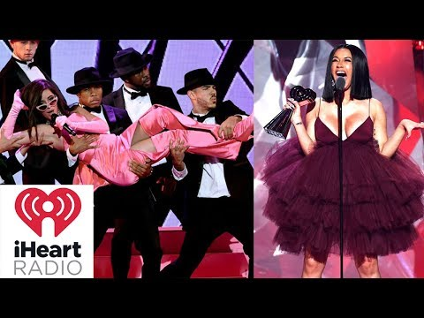Camila Cabello & Cardi B TAKE OVER iHeart Radio Awards 2018