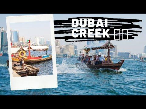 Dubai Creek| A Beautiful Manmade Waterway| Which Divide Bur-Dubai & Deira