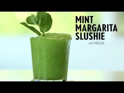 How to Make a Mint Margarita Slushie   Cooking Light