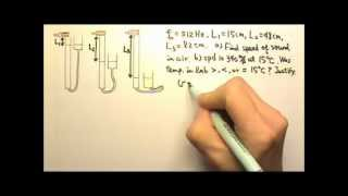 AP Physics 1: Sound 3: Air Column Resonance & Speed of Sound Lab Problem