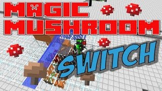 Minecraft Magic Mushroom BUD Switch - Quick Tutorial