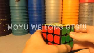 speed cubing moyu weilong gts review