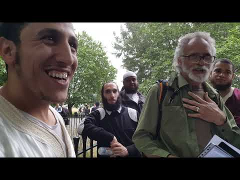 Allah Saved Jesus - Shamsi Vs Christian Hyde Park Speakers Corner