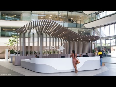 Sasol shows off new corporate head office