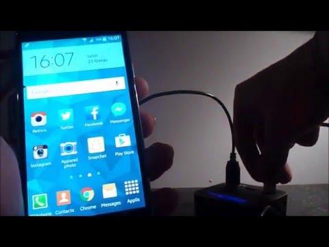 BRANCHER CLÉ USB/SOURIS/CLAVIER/MANETTE SUR SMARTPHONE ANDROID (USB OTG)