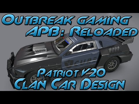 All Points Bulletin: Reloaded - Patriot V20 Clan Car Design
