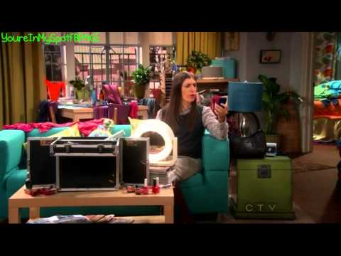 Sheldon's Assistant Alex - The Big Bang Theory