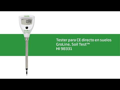 HI 98331 Medidor De CE Y Temperatura (Directo En Suelo)