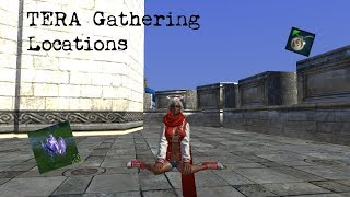 TERA Rising: Gathering Locations