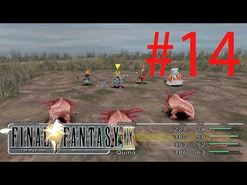 Guia Final Fantasy IX (PS4) - 14 - Magia Azul de Quina (PARTE 1)