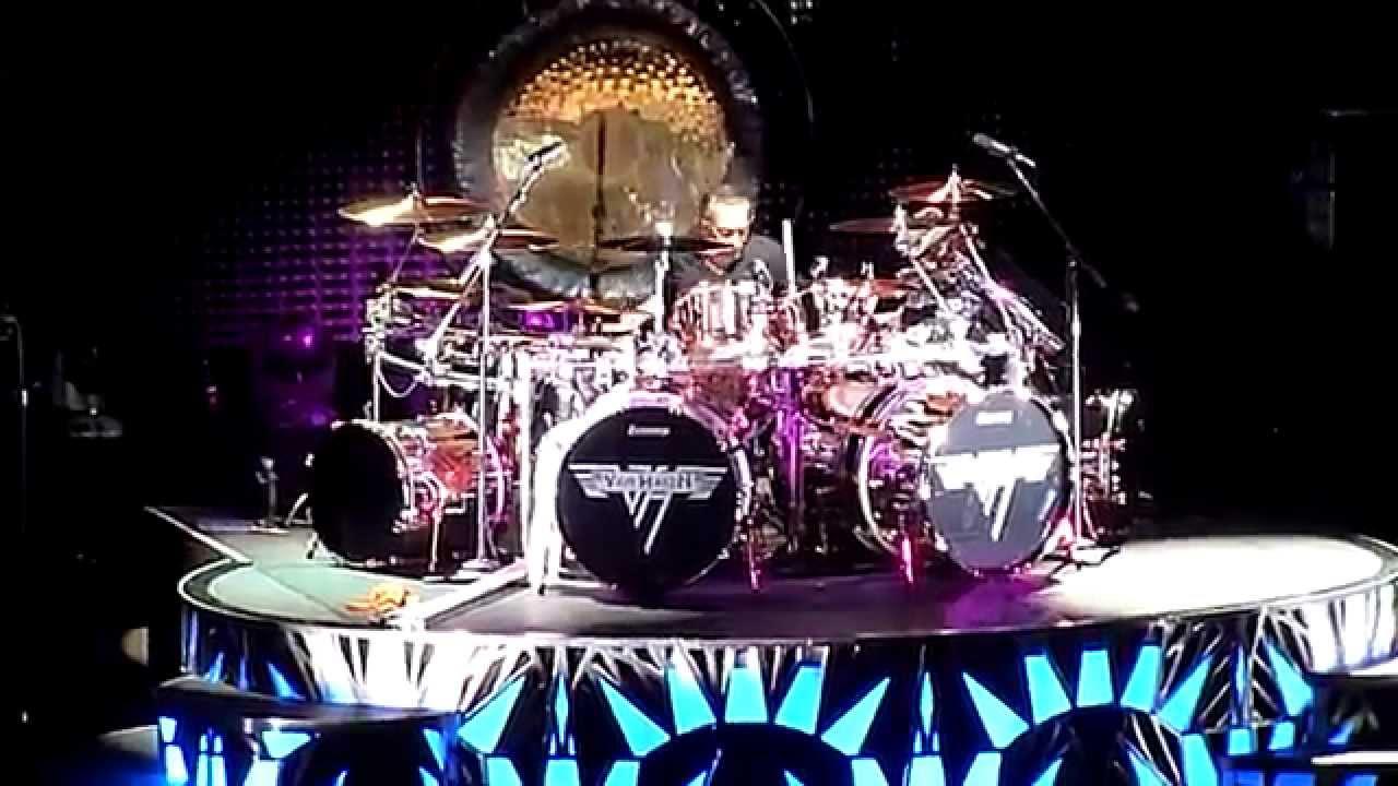 Van Halen Alex S Drum Solo Shoreline Amphitheater 7 16 2015 Youtube