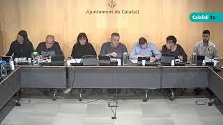 Ajuntament de Calafell: Sessió plenària ordinària, 23 de gener de 2020
