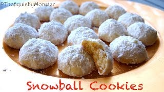 How To Make The Best Snowball Cookies - Easy Recipe