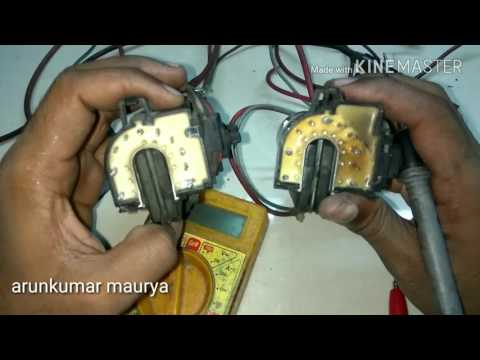 How to check and change the eht(fly back transformer) winding and eht cap with English subtitle