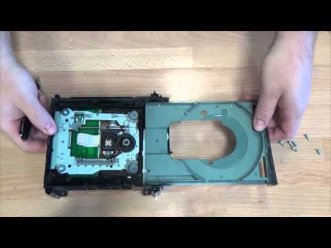 Xbox 360 center motor replacement for Samsung drive type
