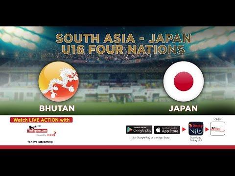 Bhutan v Japan | South Asia-Japan U16 Four Nations
