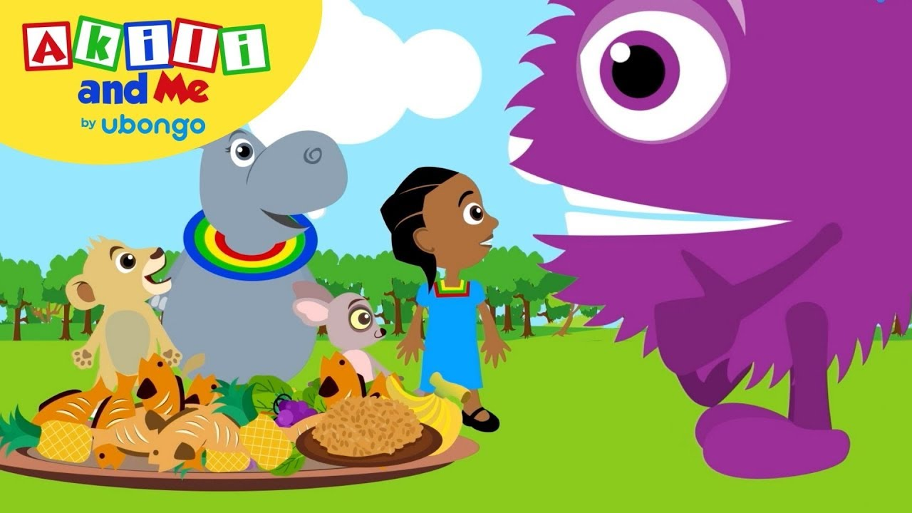 Akili Loves to be Healthy! | Stay Healthy with Akili and Me | Educational Cartoons for Preschoolers