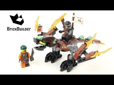 Lego Ninjago 70599 Cole's Dragon - Lego Speed build - YouTube