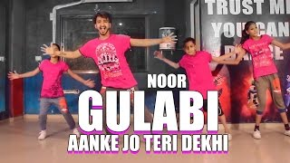 noor gulabi aankhe 20 dance choreography vicky patel best bollywood hiphop dance performance