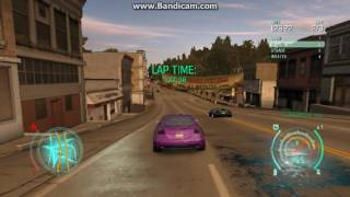 Need for speed most wanted undercover Pine creek & Douglas Circuit