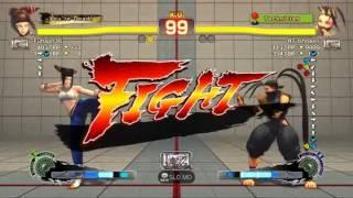USFIV~ Juri (Fuhajin36) vs  Ibuki (HT Ishoken) HD