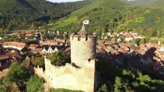 Le village de Kaysersberg, Haut-Rhin vu du drone - Teaser LFVDD