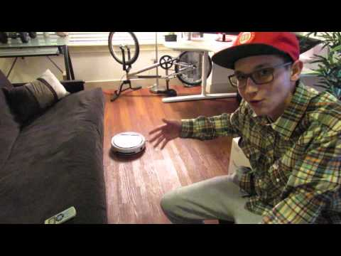 ilife robot vacuum review!! *****COOL TECH******