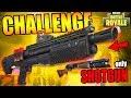 ONMOGELIJKE SHOTGUN ONLY UITDAGING?! | Fortnite Battle Royale Challenge (NL/Nederlands)