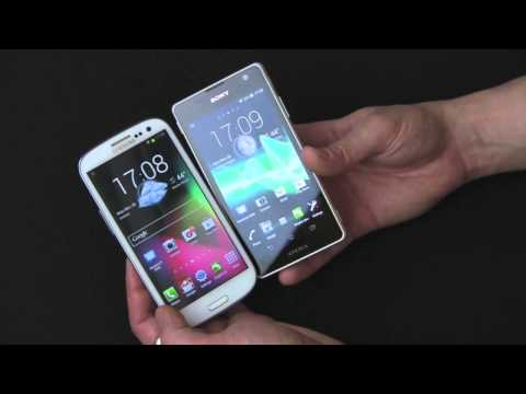 Samsung Galaxy S3 vs. Sony Xperia TX Review - by Gazelle.com