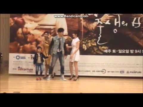 Lee Jin & Sung Yu Ri [Cute Moment] The Secret of Birth Press Con
