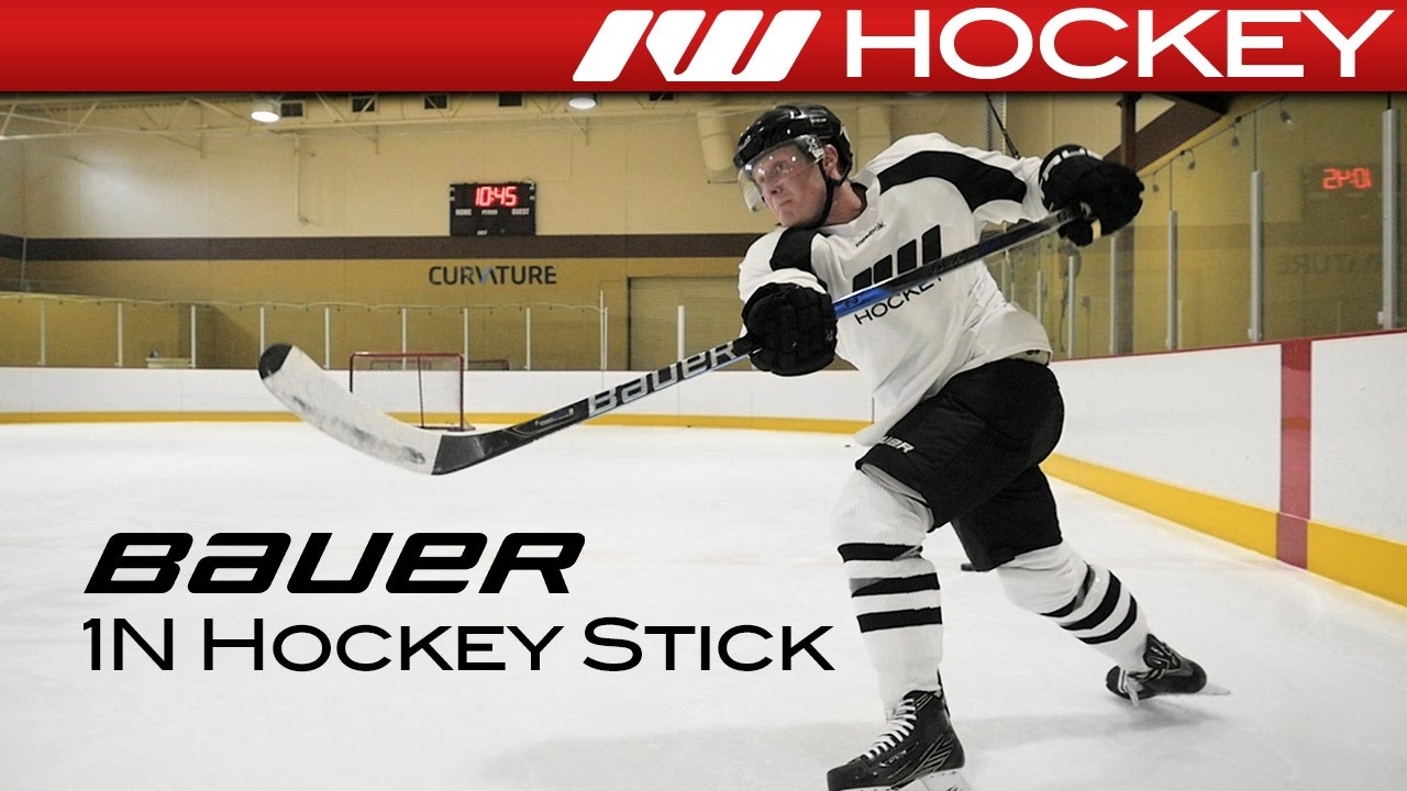 9bce3f7a21f 2017 Bauer Nexus 1N Stick On-Ice Review - YouTube