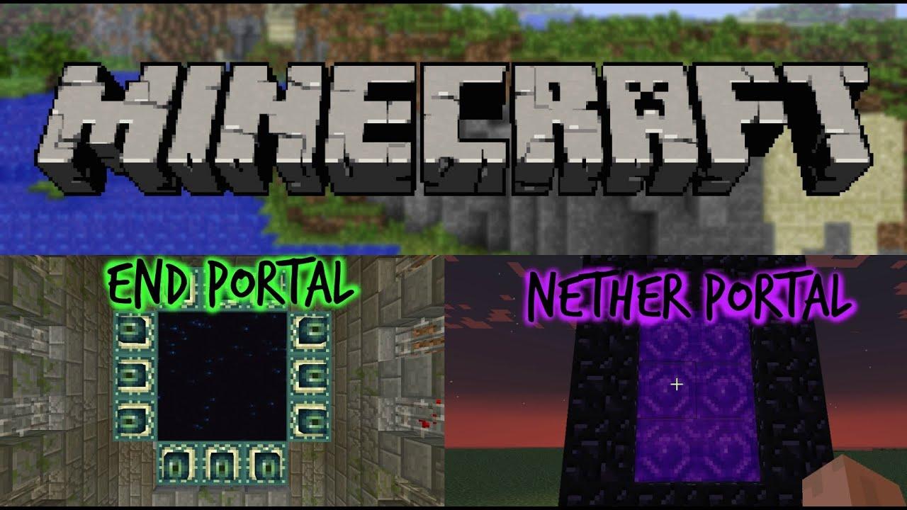 How Do You Build A Minecraft End Portal