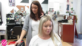 Fusion Hair Extension Application - Before and After Amazing Transformation | Instant Beauty ♡