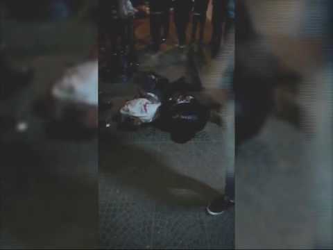 Feroz golpiza de 50 vecinos a dos presuntos motochorros