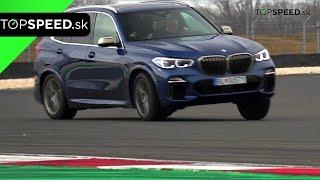 OKRUH BMW X5 M50d test - Alex ŠTEFUCA TOPSPEED.sk