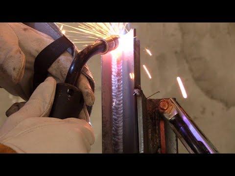 Miller Multimatic 220 AC/DC Mig Welding Techniques