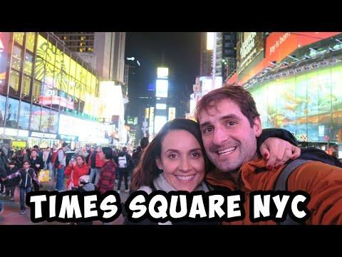TIMES SQUARE NEW YORK CITY - T.3/EP.73  | VIAGEM | VOLTA AO MUNDO | ROMULO E MIRELLA