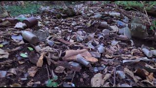 Found HUGE Untouched Antique Bottle Dump in City Creek: Part Two