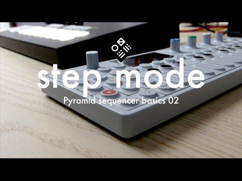 Pyramid Sequencer Basics — 02/step mode