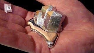 10 Metales más valiosos y caros del mundo