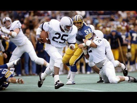 Classic Tailback - Curt Warner Penn State Highlights