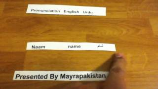Learn Urdu / Hindi Words Meaning From English Speaking Lesson 4