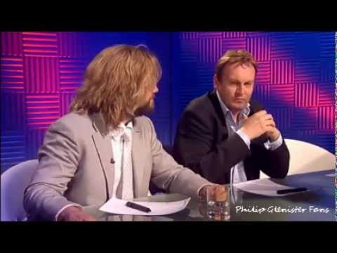 Philip Glenister, Ulrika Johnson and Justin Lee Collins on Chris Moyles Quiz Night