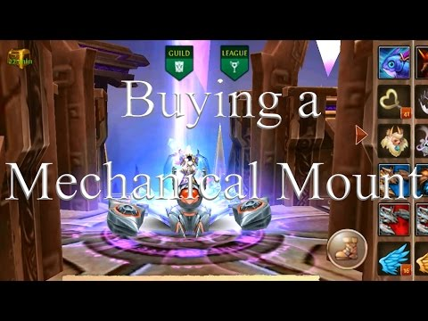 Order And Chaos Online Buying A Mech Mount