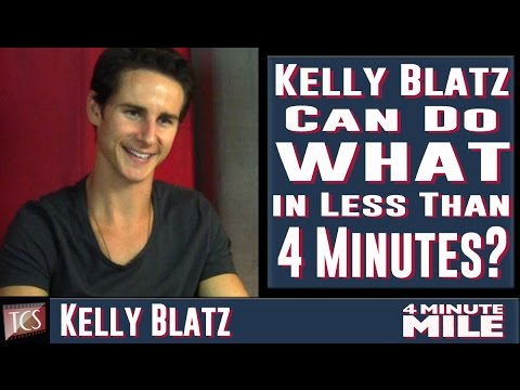 Kelly Blatz Exclusive Interview – 4 Minute Mile
