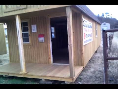 Derksen portable buildings 12x32 lofted barn located at for Portable building floor plans