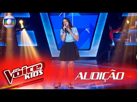 Larissa Molinari canta 'When We Were Young' na Audição –  The Voice Kids Brasil | 2ª Temporada